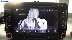 a sure newest 7 quot android 5 1 1 dab dvd gps for vw golf 5