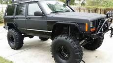 jeep xj jeep xj on 36s s road steel flares
