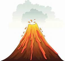 Gambar Animasi Gunung Meletus Gambar Lmn
