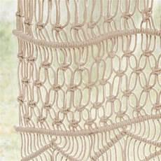 1000 images about rideau on rideau macram 233 en coton 233 cru 224 l unit 233 105x250 macrama