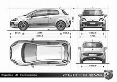 dimension fiat punto abarth punto evo 2010 cartype