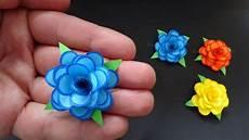 Basteln Mit Papier Kleine Blumen Als Diy Deko