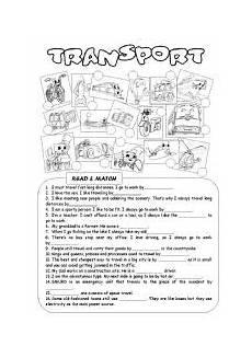 transport comprehension worksheets 15178 teaching worksheets the transports