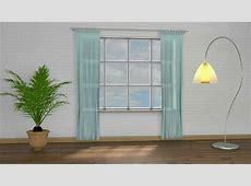 Gardinenstange Halterung Fenster