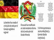 simbolos patrios y naturales del estado miranda jaime jose pi 241 a arangure divisi 243 n pol 237 tico territorial y s 237 mbolos del estado miranda