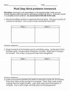 multiplication word problems worksheets for grade 1 11293 third grade multi step word problems addition subtraction multiplication