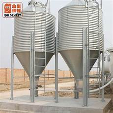 china galvanized poultry farm livestock feed silo manufacturers and suppliers factory