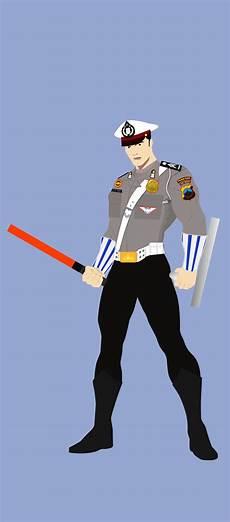 Gambar Kartun Polisi Keren Top Lucu