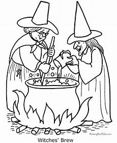 coloring pages of witches 007