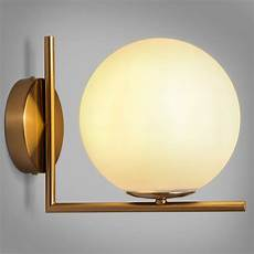 cattel simple white globe glass shade single light indoor wall sconce indoor sconces wall