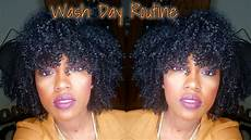simple wash day routine 4 type curls youtube