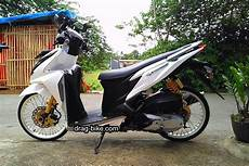 Modifikasi Lu Vario 150 modifikasi vario 150 jari jari ring 17 warna putih honda