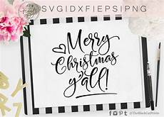merry christmas yall svg dxf png eps theblackcatprints