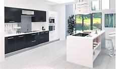 cuisine blanc et noir 85055 photos cuisine blanc et atwebster fr maison et mobilier