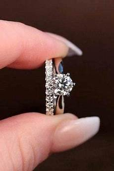 solitaire ring with diamond wedding band 100 popular engagement ring designers we admire page 6 of 11 wedding forward