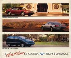 old car manuals online 1994 chevrolet lumina security system 1990 chevrolet lumina brochure