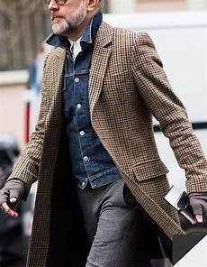 veste avec jean homme veste en jean manteau pied de poule style vestimentaire