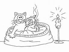 Ausmalbilder Geburtstag Katze Katzen Wuschels Malvorlagen