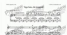 vaga che inargenti download sheet music pdf file