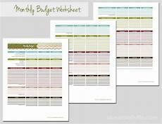 money worksheets 2343 fillable monthly budget sheet 1000 ideas about monthly budget worksheets on items