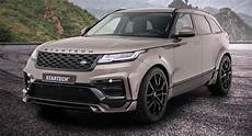 widebody range rover velar is startech s geneva showcar