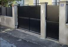 portail en acier portail acier gamme retro senan fabricant portail
