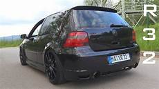golf 4 r32 stoßstange vw golf 4 r32 pipe acceleration sound onboard