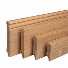 sockelleiste aus holz eiche massivholz fu 223 leisten f 252 r