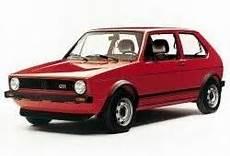 volkswagen golf i hatchback 1 8 gti 112km 82kw 1982 1983