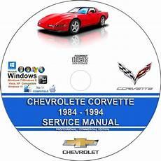 chilton car manuals free download 1984 chevrolet corvette transmission control chevrolet corvette 1984 1994 service repair manual on cd