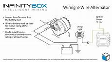 3 wire alternator infinitybox