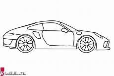 ausmalbild auto malvorlagen auto 187 pdf kribbelbunt