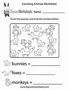 animals and their worksheets for kindergarten 14101 in this counting activity worksheet preschoolers to count different kinds of animals