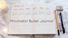 Bullet Journal Jahresübersicht - my minimalist bullet journal set up