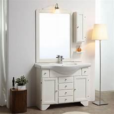 mobili bagno vendita on line mobile bagno stile shabby 105 cm decap 232 sbiancato kv store