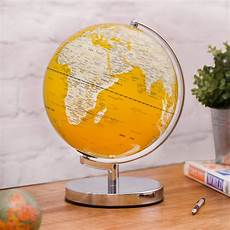 led globe illuminated led globe light in english mustard by