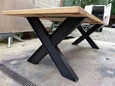 table industriel pied ipn et ch 234 ne sue mesure table en