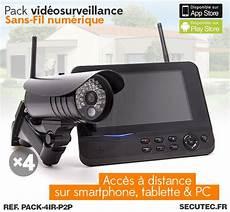 Pack 4ir P2p Kit Vid 233 O Surveillance Sans Fil 4 233 Ras