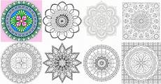 mandala worksheets free 15920 15 amazingly relaxing free printable mandala coloring pages for adults diy crafts