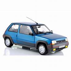Norev Scale 1 18 Renault R5 Gt Turbo 1985 Blue