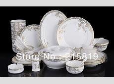 46pcs dinner set fine bone china dinner set tableware set