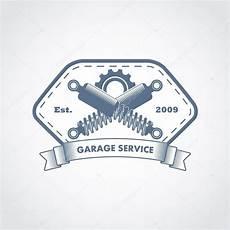 Garage Logo Vector by Vector Garage Service Logo Stock Vector 169 Ribz 119383984