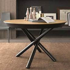 Table Ronde Bois Pied Central D Occasion