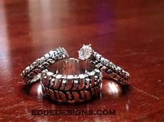 wedding set 3 rings edde designs
