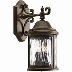 progress lighting ashmore collection 2 light bronze wall lantern p5649 20 the home depot