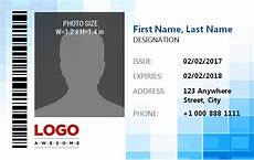 id card template in excel free id badge template excel free word templates