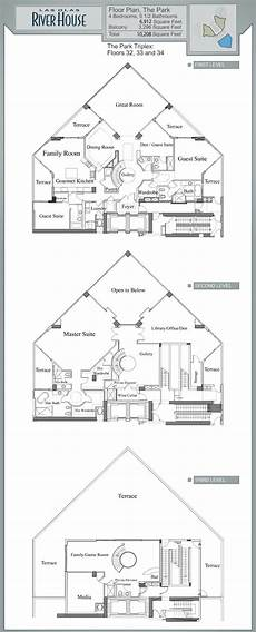 las olas river house floor plans las olas river house fort lauderdale the park triplex