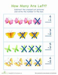 subtraction visual worksheets 10304 subtraction for visual learners easter 5 math subtraction kindergarten lessons
