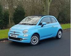 2016 fiat 500c lounge convertible in volare blue low