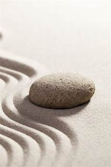 Focus On In Zen Sand Royalty Free Stock